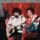 Image of Bob Dylan And Keith Richards Autographed Color 8X10