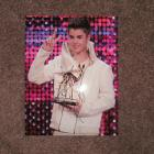 Image of Justin Bieber Autographed 8.5X11 Color Photo
