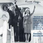 Image of President Ronald Reagan Autographed 8X10 Political Postcard