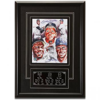 Image of Mantle, Mays, & Snider Authenticated Autographs
