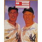 Image of MANTLE,DiMaggio,  AUTOGRAPHED W/COA MLB