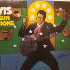 Image of Elvis Presley hand signed record album.