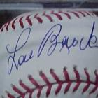 Image of Lou Brock Autographed PSA/DNA CERTIFIED Baseball as MINT 9!