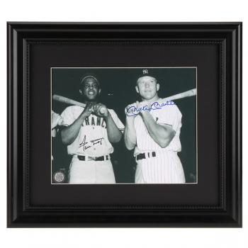 Image of Willie Mays & Mickey Mantle Authenticated Autographs