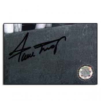 "Image of  Willie Mays Autograph 13""x10.5"" LTD Custom Plaque"